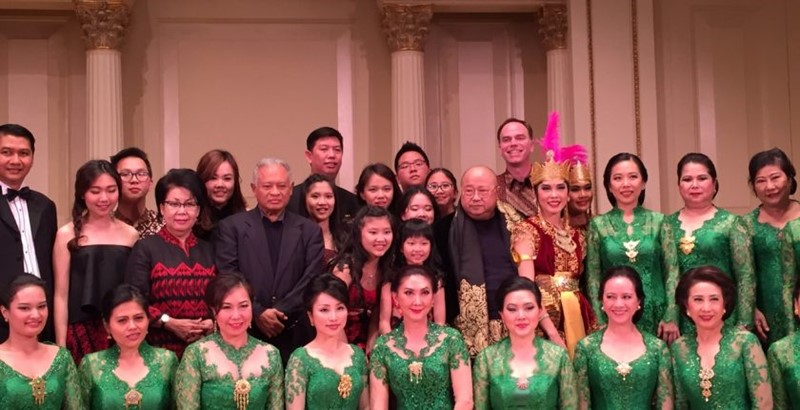 The Indonesia Pusaka Recital di Carnegie Hall