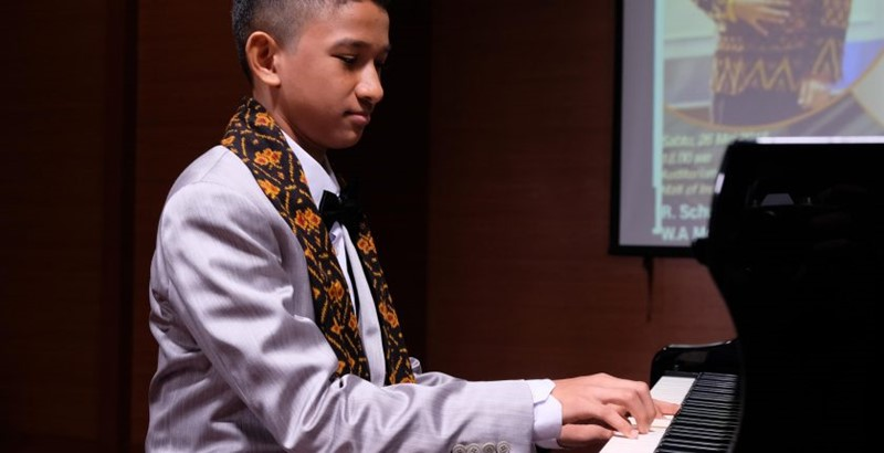 Solo Piano Recital Canho Pasirua