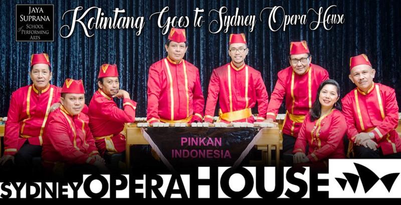 Kolintang di Sydney Opera House