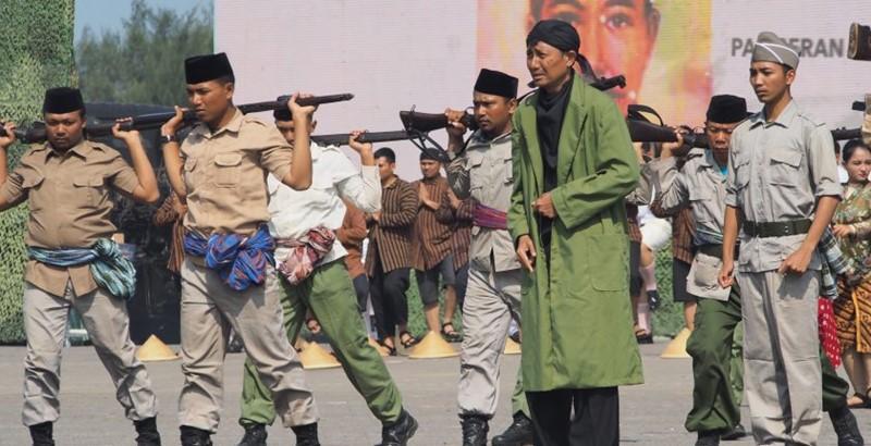 HUT TNI Ke 72 Sosiodrama Jenderal Soedirman