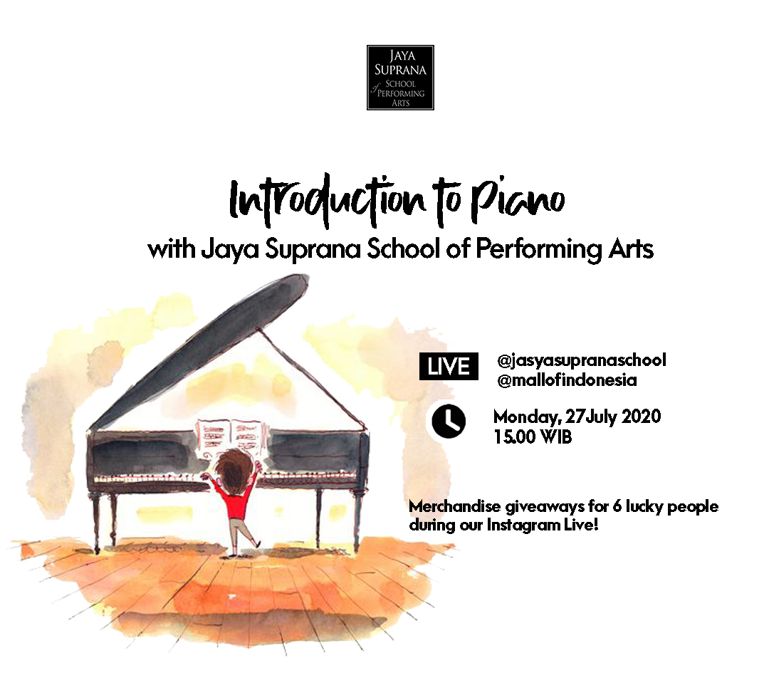 Introducing to Piano with Jaya Suprana School (LIVE IG)