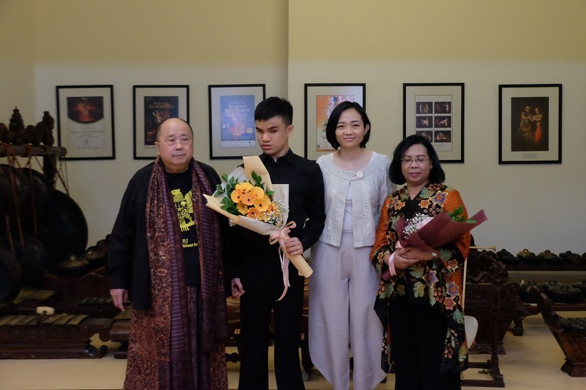 The Piano Prodigy Virtual Charity Concert with The Indonesia Pusaka Orchestra