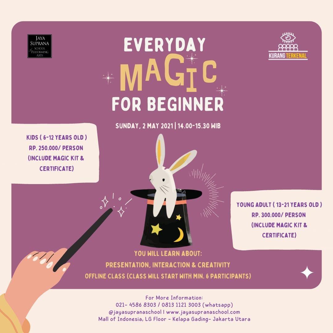Sunday Funday: Everyday Magic for Beginner