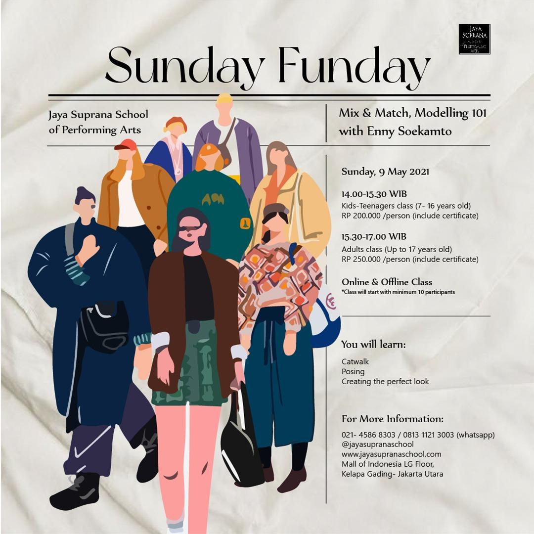 Sunday Funday: Mix and Match, Modelling 101 with Enny Soekamto
